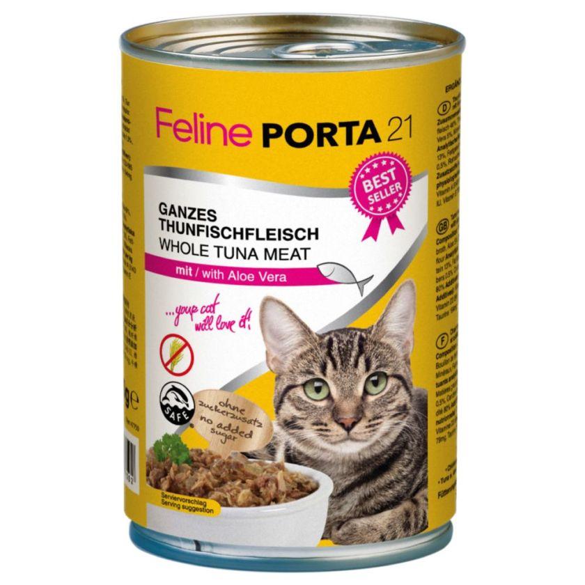 Feline Porta 21 6 x 400 g - thon, surimi