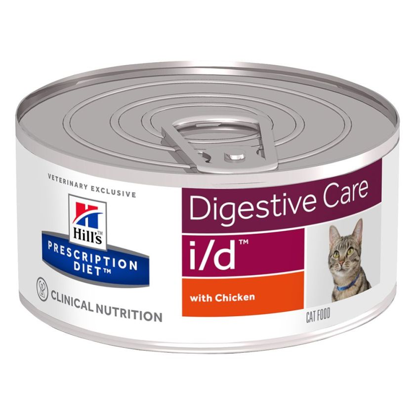6x156g i/d Digestive Care poulet pour chat Hill's Prescription Diet