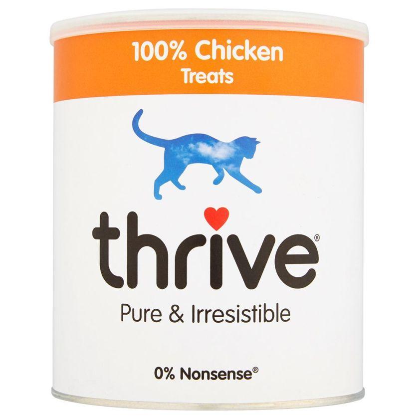 200 g maxi format, poulet Thrive Friandises lyophilisées pour chat