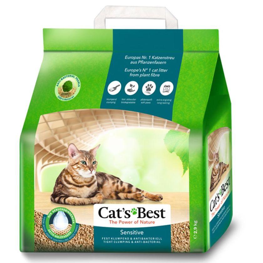 8L Cat's Best Sensitive Litière pour chat