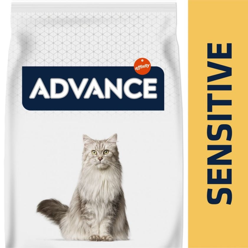 Advance Sensitive saumon, riz pour chat - 10 kg
