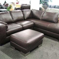 Italsofa Loveseat Leather Sofa With Lounger Ital At Sofadealers Sofas Couches Reclining