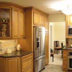 Light Maple Kitchen Cabinets Upgrading Countertops Pictures For Golden Interiors Inc In Fairfax Va 22030