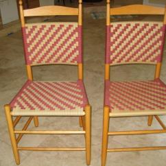 White Ladder Back Chairs Rush Seats Herman Miller Ebay Weaving Shaker Tape Seat Chair | Foto Bugil Bokep 2017