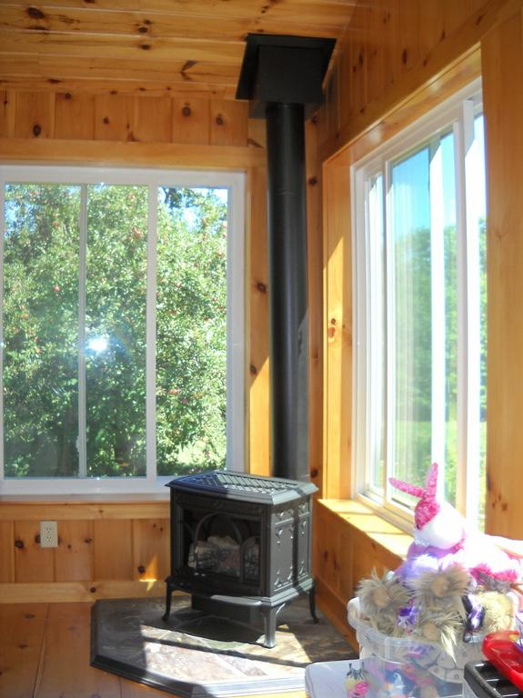 Jotul Allagash Gas Stove In New Hampshire Sunroom From Fireplace Village Merrimack In Merrimack