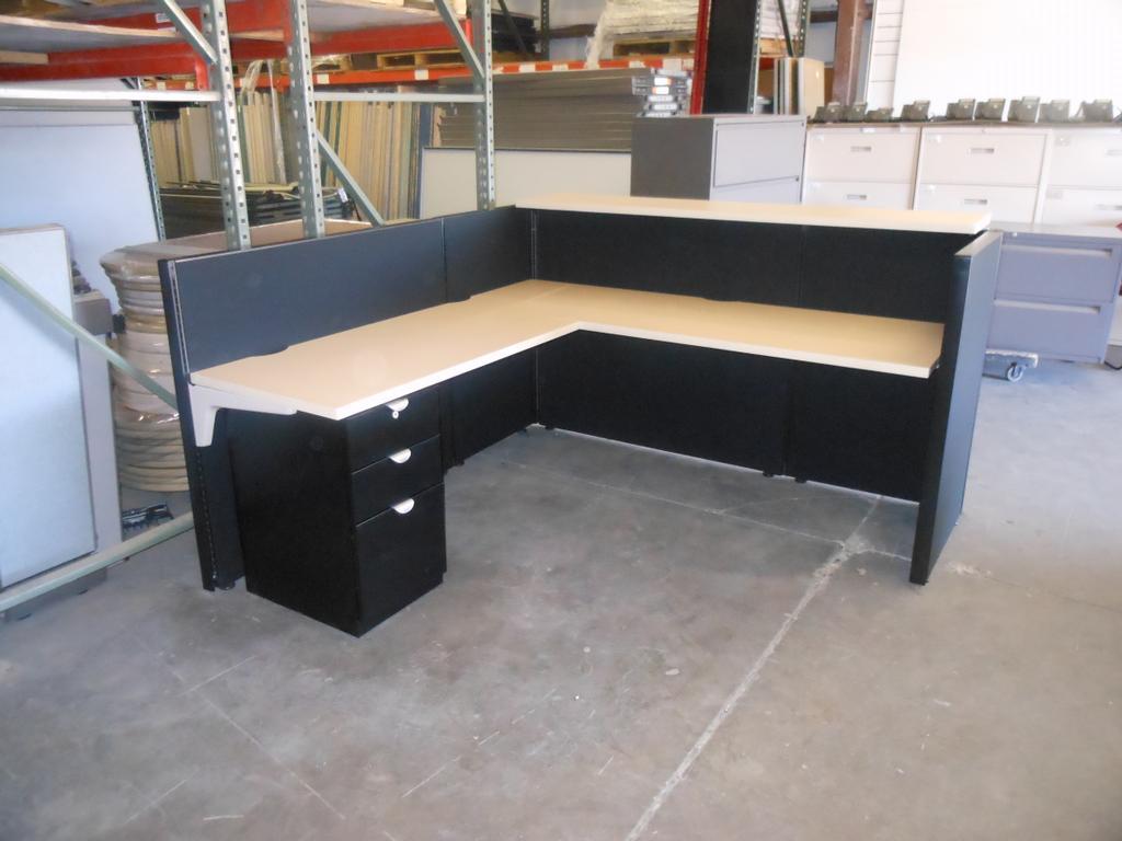 office chairs phoenix arizona plastic lawn walmart herman millr reception desk from modern modular inc new