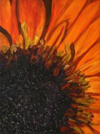 Off The Wall Art Gallery - Original Modern Art Orange ...