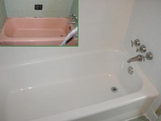 Bathroom colors that tone down pinkish tub granite