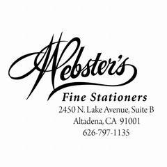 Webster's Logo Arno Pro Font from Webster's Fine