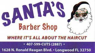 santa s barber shop longwood fl 407 599 2887 hair salons
