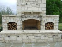 Austin Stone Fireplace 6 from Rock Solid Materials, LLC in ...