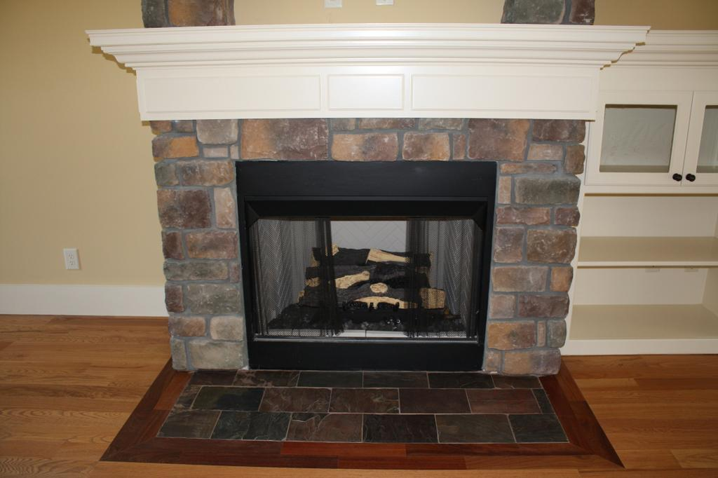 New Construction Fireplace From Classic Tile Stone Inc