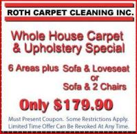Roth Carpet Cleaning Inc Pittsburgh