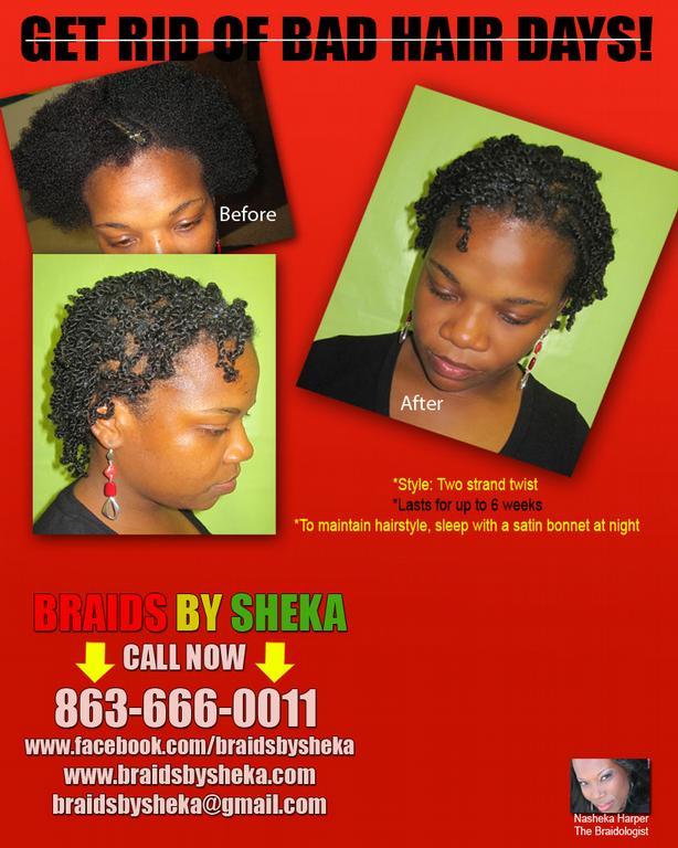 Braids By Sheka Lakeland FL 33801 863 666 0011