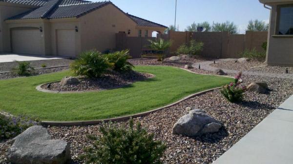 giving idea front garden design