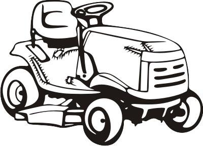 riding-lawn-mower from Coach's Lawn service in Ocean