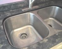 Undermount Sink With laminate tops from Abby Kitchens ...