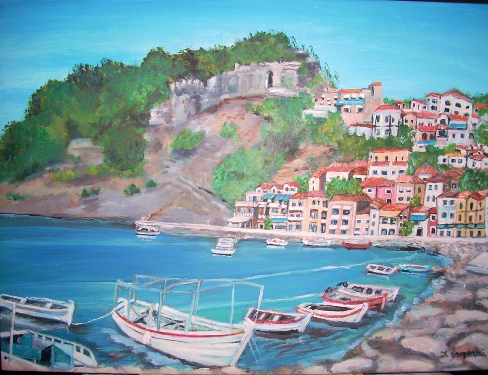 Parga In Greece From Dominici Studios In Oceanside CA 92052