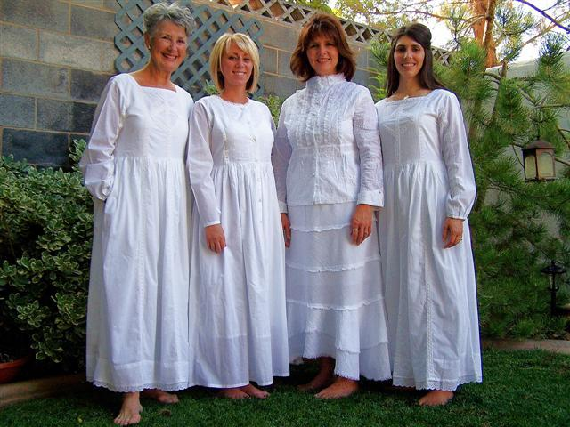 LDS Temple Clothing from Celestial Fashions in Hurricane