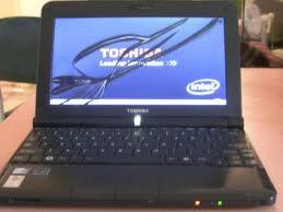toshiba laptop with cracked lcd screen