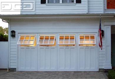 Garage Door Windows That Open