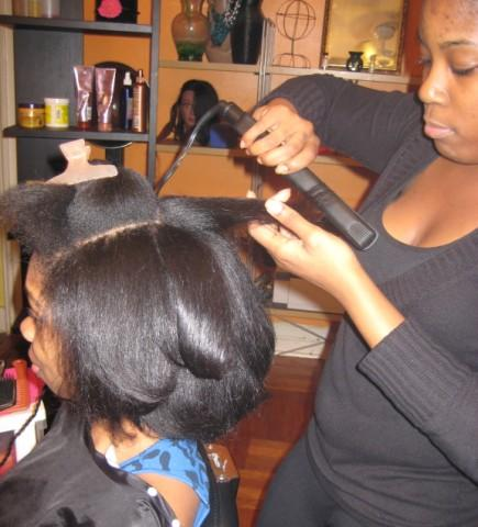 it s only natural flat ironing tips