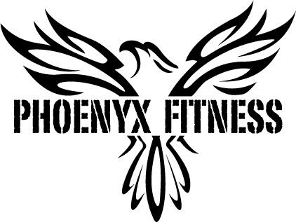 Phoenyx Fitness Logo BW from Phoenyx Fitness in New York
