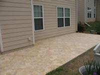 Tiled Patio floor. from jackpot construction in Covington ...