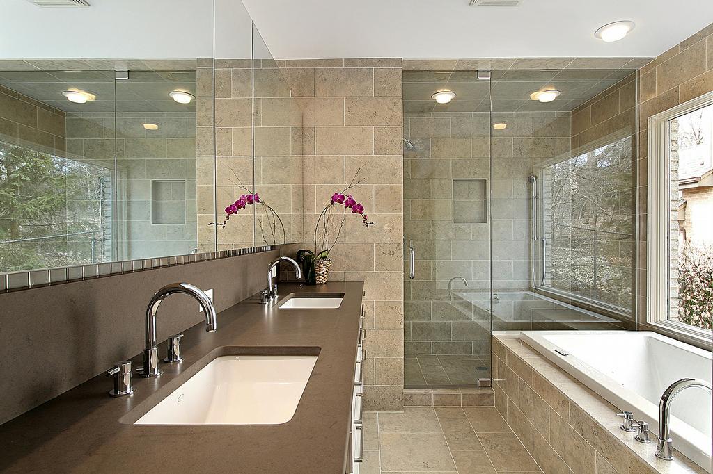 Bathroom Design With Bathtub  Home Decorating