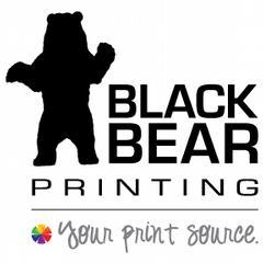 bear-sitting from Black Bear Printing in Wurtsboro, NY 12790