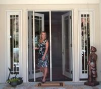 Retractable Screen French Door from HIS ClearView