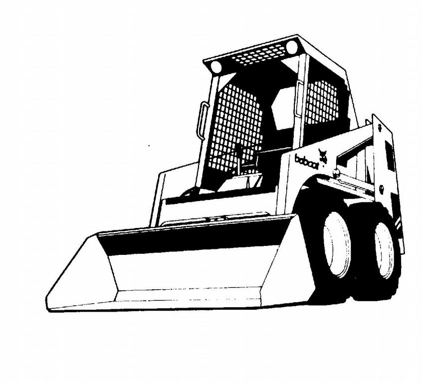 Bobcat Machine Clip Art