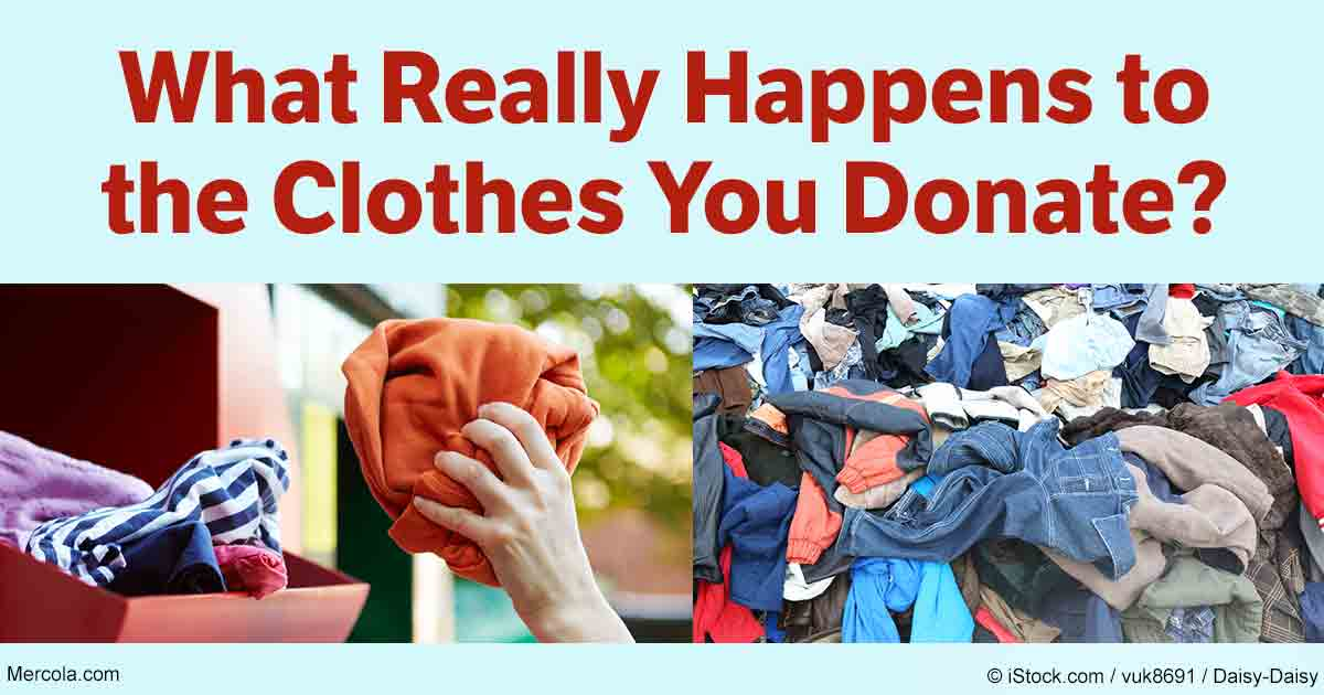 what actually happens to your donated clothing