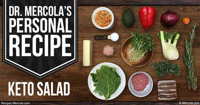 Dr. Mercola's Keto Salad Recipe