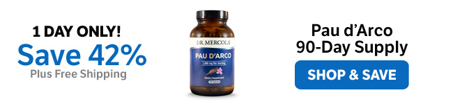 Save 42% on a Pau d'Arco 90-Day Supply