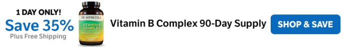 Save 35% on a Vitamin B Complex 90-Day Supply