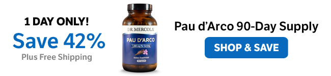 ​Save 42% on a Pau d'Arco 90-Day Supply