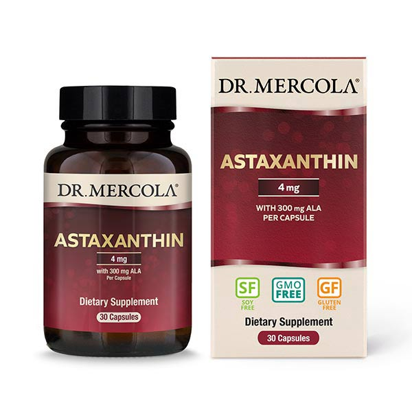 Astaxanthin with ALA 30 Capsules