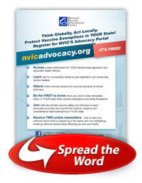 NVIC Advocacy poster