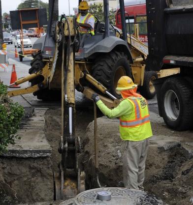 Crenshaw/LAX Transit Corridor - Work