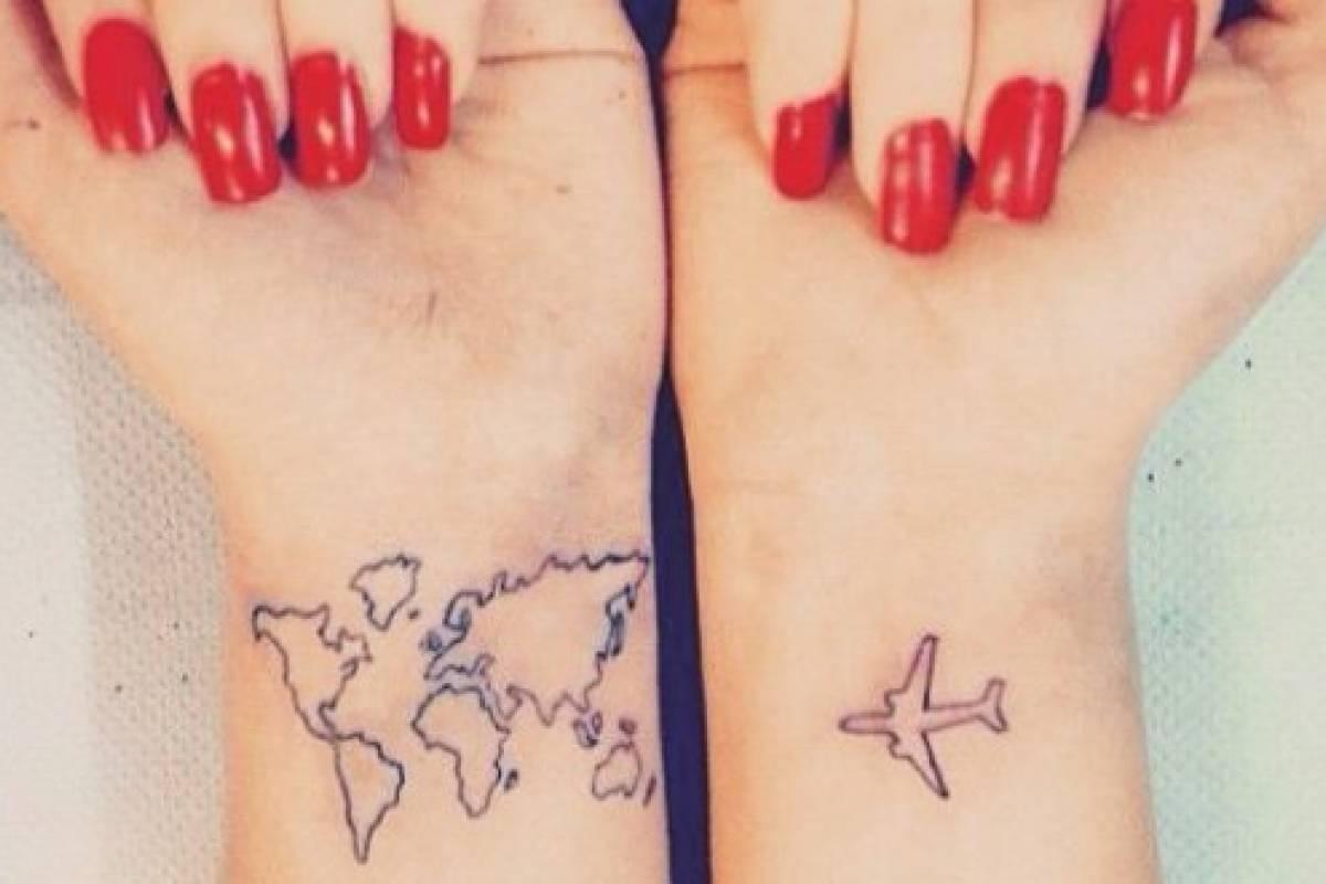 Diseños De Tatuajes Para Personas Viajeras Con Espíritu Aventurero