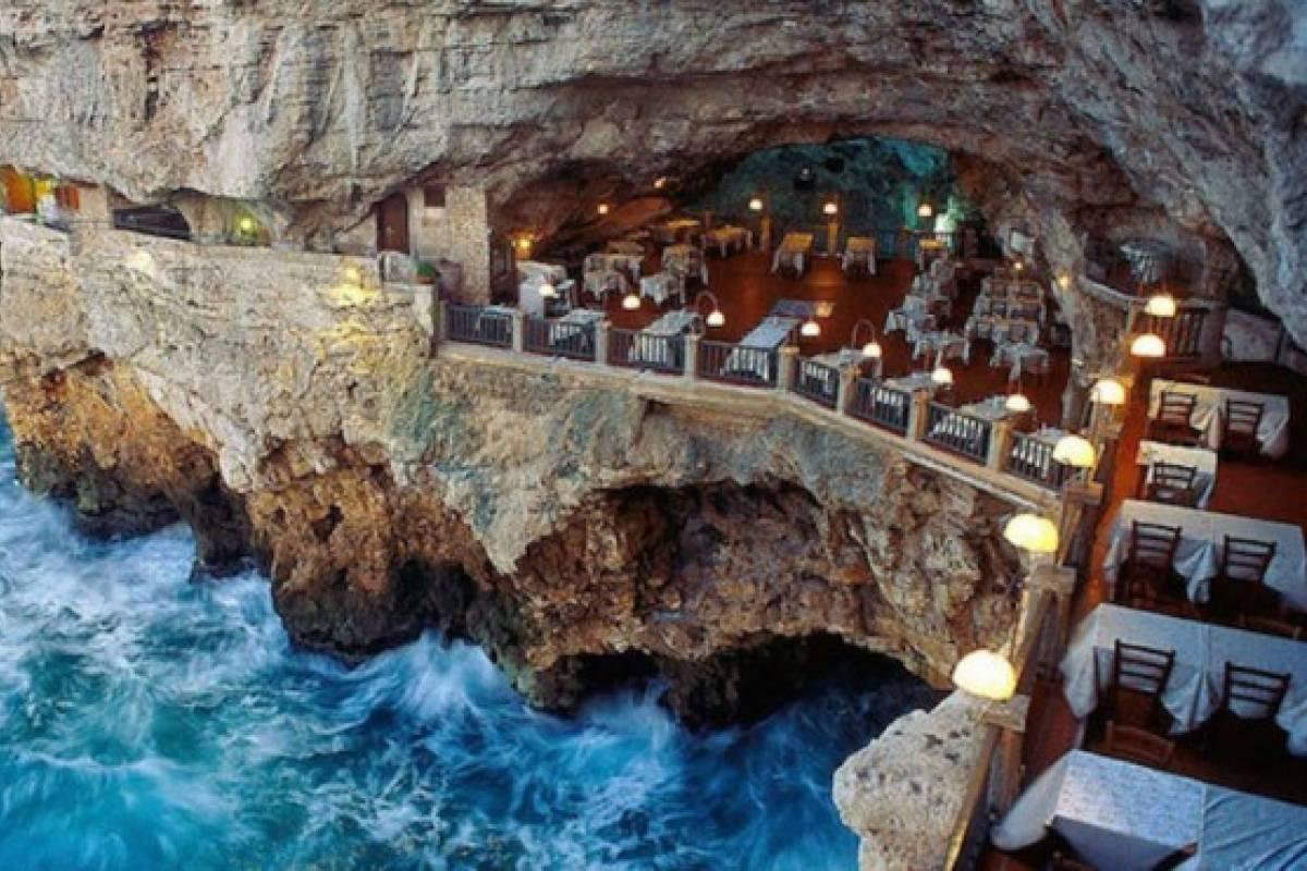 Conoce El Restaurante Que Esta Dentro De Una Cueva Marina