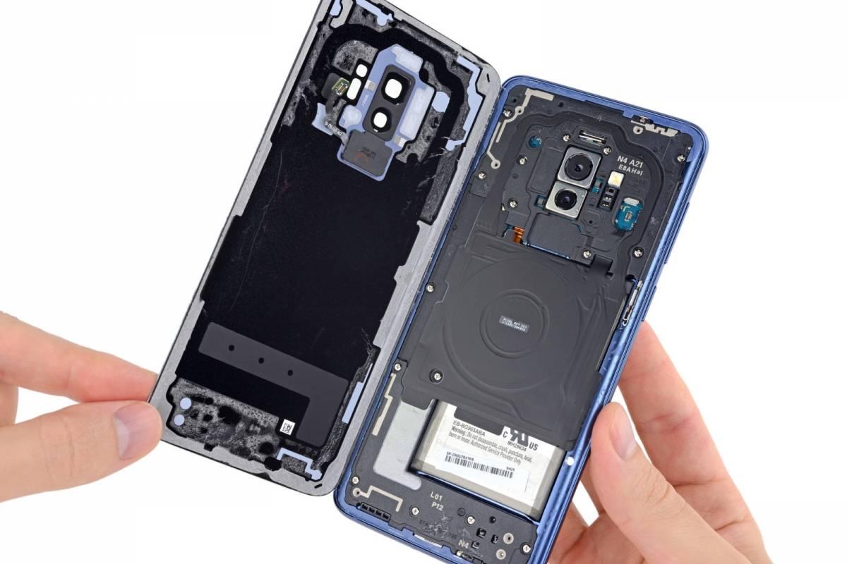 El Samsung Galaxy S9 es difícil de reparar, pero se puede