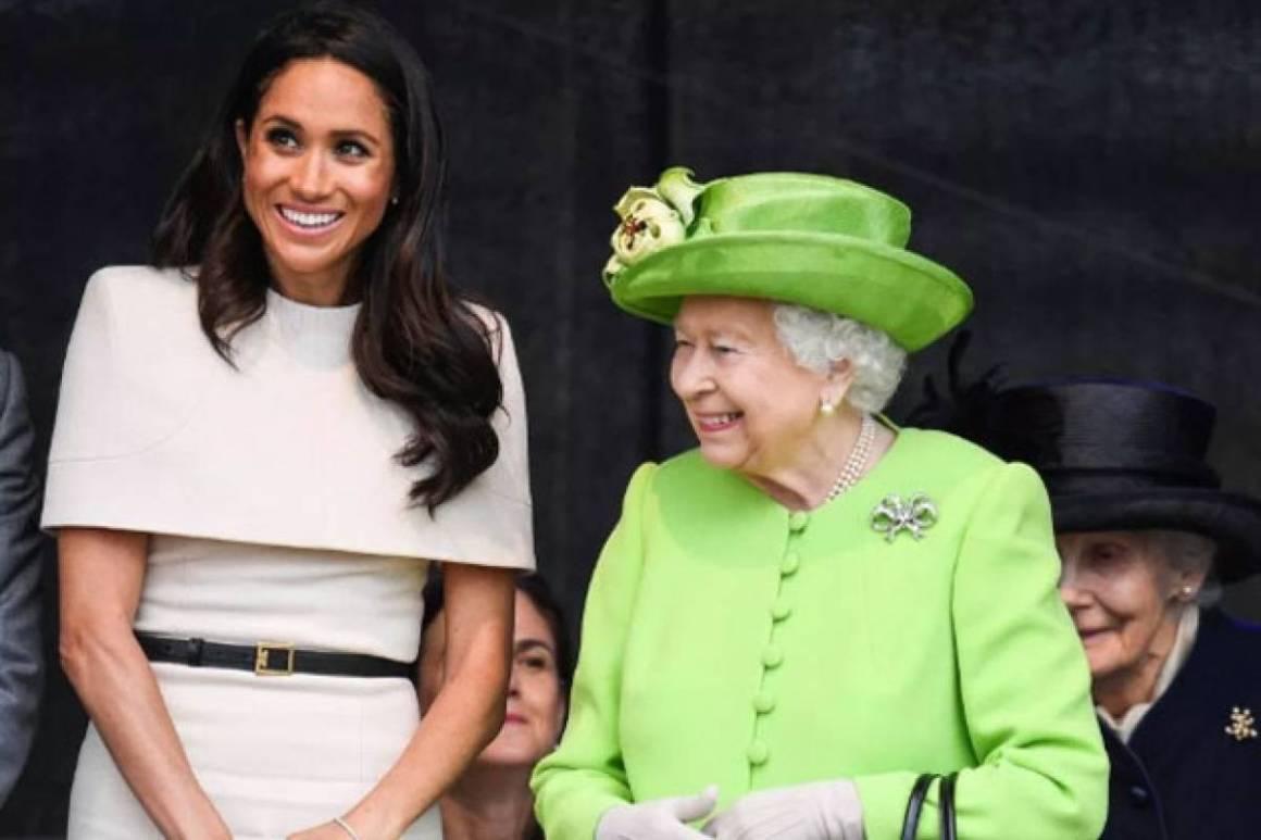 Resultado de imagen para meghan markle y la reina isabel