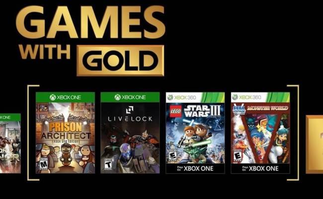 Xbox Estos Son Los Juegos Gratuitos De Games With Gold