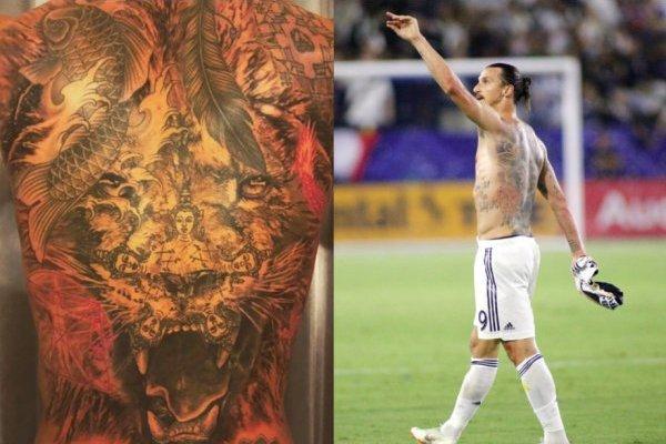Este Es El Significado De Los Tatuajes De Zlatan Ibrahimović