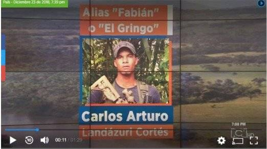 """""""Comandante Gringo"""" sería el posible sucesor de alias"""