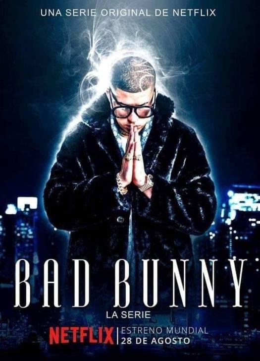 Falsa publicidad de la serie de Bad Bunny
