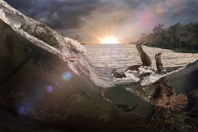 Un nuevo hallazgo reveló más detalles sobre el día del impacto del meteorito que extinguió a los dinosaurios