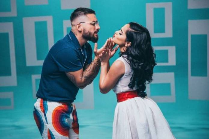 Image result for becky g and maluma